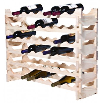 VinRack™  6 x 8=48 Bottle Rack, Natural