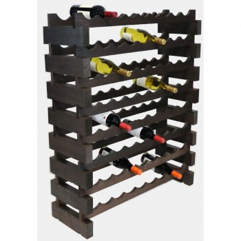 MODULARACK 72 BOTTLE 8H x 9W STAINED