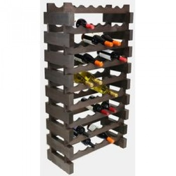 MODULARACK 54 BOTTLE 9H x 6W STAINED