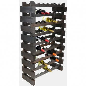 MODULARACK 63 BOTTLE 9H x 7W STAINED