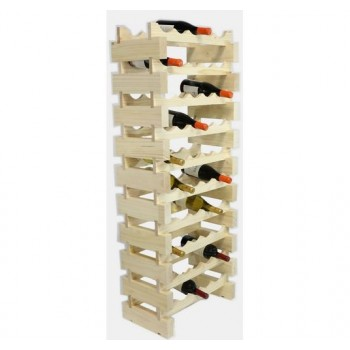 MODULARACK 50 BOTTLE 10H x 5W NATURAL