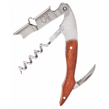 Innovation Deluxe Corkscrew, Rosewood Handle