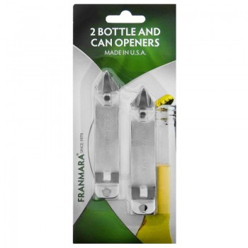 Bottle/Can Opener, Economy Model, Two on a Card
