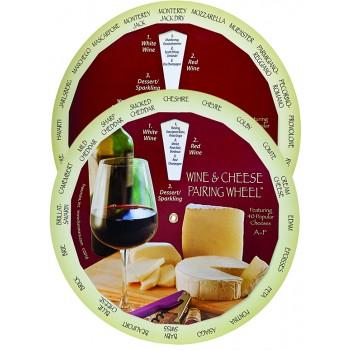 Wine & Cheese Pairing Wheel