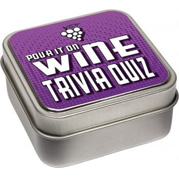 Wine Trivia Quiz Cards