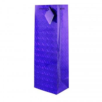 Purple Hologram Gift Bag