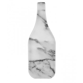 Bottle-Shaped Marble Cheese Board
