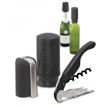 Wine & Sparkling Starter Set (3 pcs.) Black. Website Exclusive