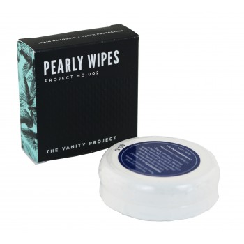 Pearly Wipes, Mirror Compact with 15 peppermint Flavored Disposable Wipes