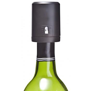 Vino-Gauge™ Wine Preserver Pump, Black Plastic