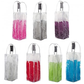Gel Bead™ Collapsible Bottle Cooler Bag (for Wine and Champagne bottles)