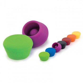 Silicone Champagne Stoppers (2 pcs.) Website Exclusive