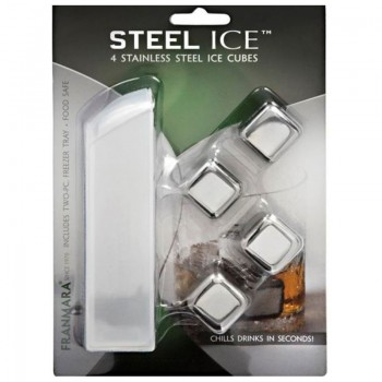 Steel-Ice™ Cubes Deluxe Set, Stainless Steel