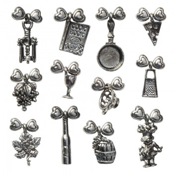 Wine Glass Charms (Gourmet)
