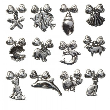 Wine Glass Charms (Land & Sea Collection)