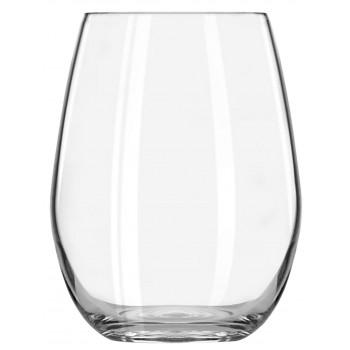 Vigneto Sheer Rim Stemless Wine Glass, 15 oz. Rimfull
