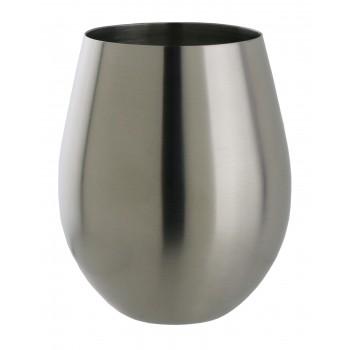 Sera™  SS Stemless Claret Bowl Glass, single wall 20 oz.