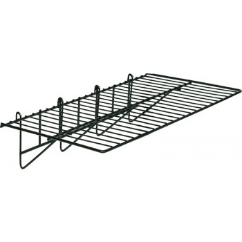 Straight Gridwall Shelf  Accessory to 90-4500