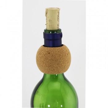 Round Cork Wine Bottle Collar