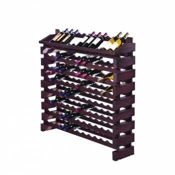 Modularack® Pro End Display Units 96 Bottles - Stained
