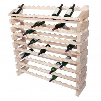 Modularack® Pro End Display Unts 96 Bottles - Natural