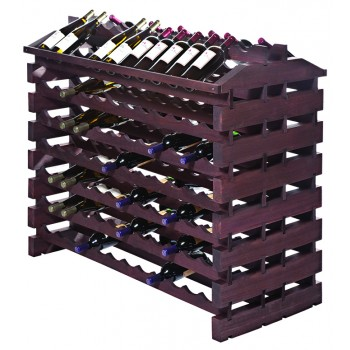 Modularack® Island Fixture 168 Bottles – Stained