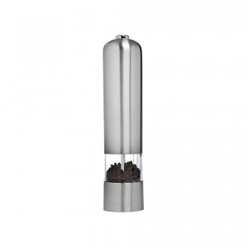 Grand Cuisine is Either an Electric Pepper or a Salt Mill, Stainless Steel