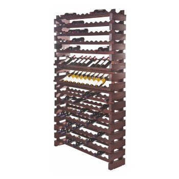 Modularack® Wall Mount Units 168 Bottles - Stained