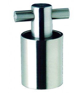 Secur-Seal Champagne/Wine Stopper, Stainless Steel