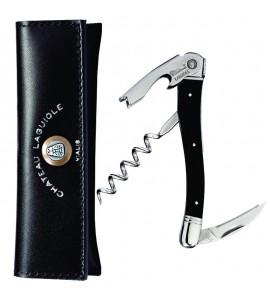 Chateau Laguiole™ Waiter's Corkscrew Black Horn