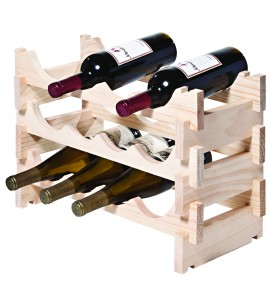 VinRack™ 3 x 4=12 Bottle Rack, Natural