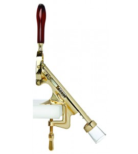 Bar-Pull™ Cork Remover, Counter Mount, Brass Plated