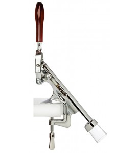 Bar-Pull™ Cork Remover, Counter Mount, Chrome Plated