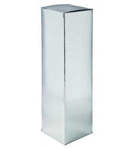 Silver Foil Bottle Gift Box