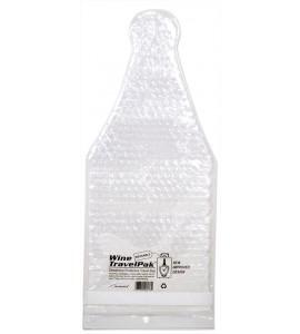 Wine TravelPak™ Reusable Bottle Protector, Clear