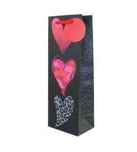 Patterns Of Heart Wine Bag