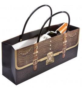 Cosmopolitan Horizontal Wine Bottle Bag