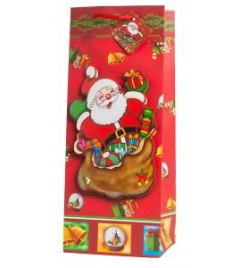 Santa 3D Wine Bag