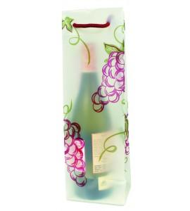 Grapes Translucent Plastic Wine Bag