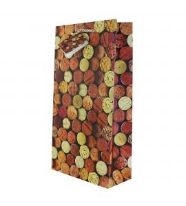 Corks 2- Bottle Wine Bag *Web Exclusive*