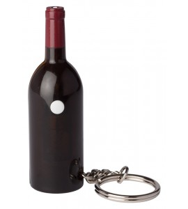 Wine Bottle Key Chain Light