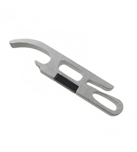 All Aluminum Beverage Opener With Refrigerator Magnet