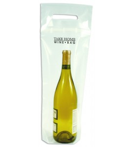 Take Home Wine Bag™  Disposable Bag (Thick Plastic)