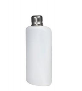 Plastic Travel Flask, 16 oz.