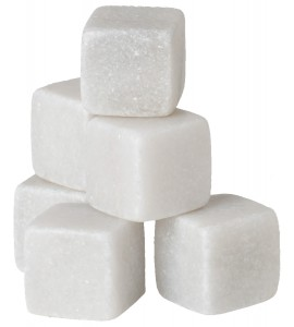 Marble-Ice™ Cubes, White Marbles (9 cubes)