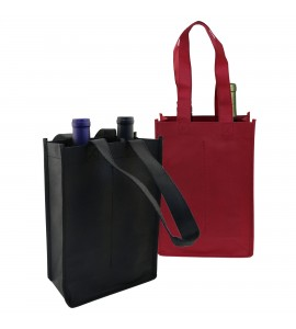 Vino Sack™ two-Bottle Bag, Open Top