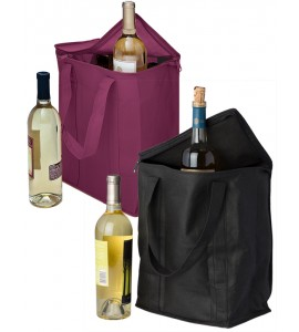 Vino Sack™ Zip-up Six-Bottle Bag