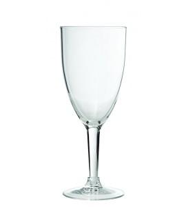 Wine Glass, Acrylic, 10 oz. Rim-full
