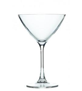 Martini Glass, Acrylic 8 oz. Rim-full