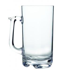 Beer Mug-Large, Acrylic 32 oz. Rim-full